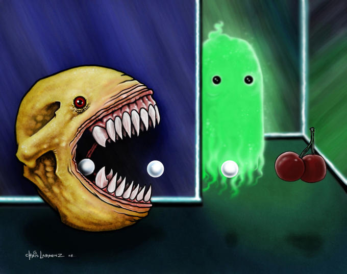 Pac man Creepypasta edition