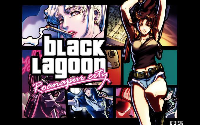 Black Lagoon Roanapur City Grand Theft Auto
