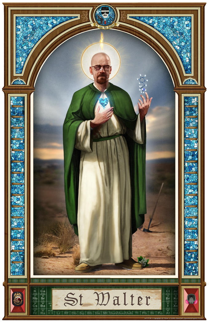 Saint Walter by SharpWriter