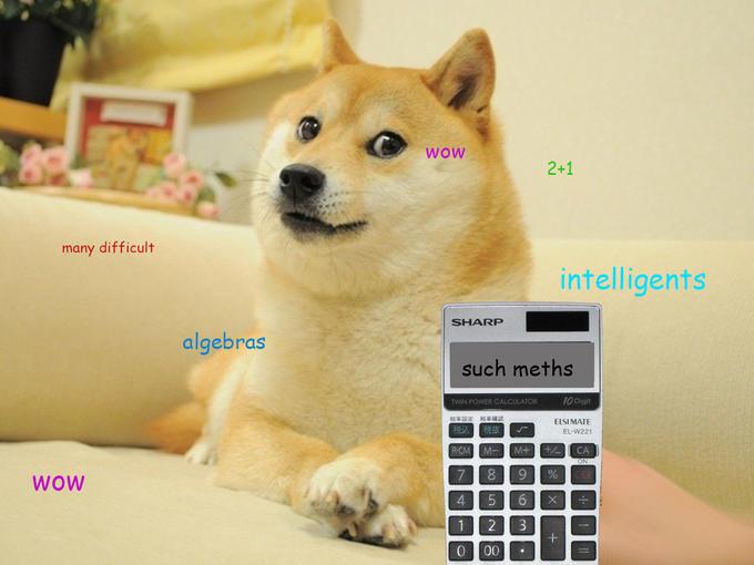 calculator doge