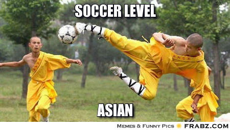 Soccer: Level Asian