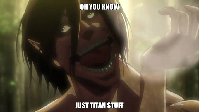 What were you doing Eren?