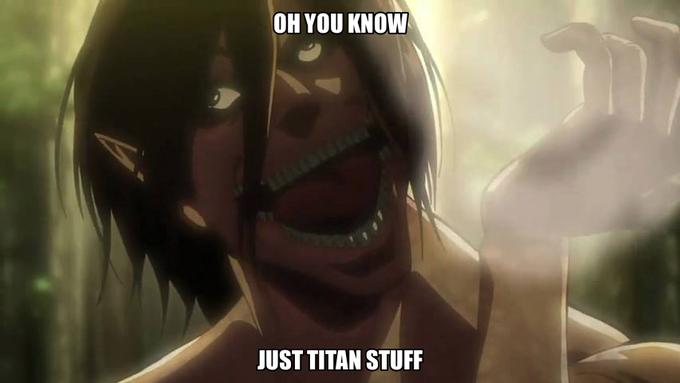 What were you doing Eren?
