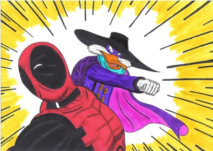 Deadpool vs Darkwing Duck