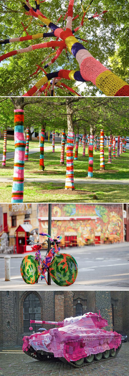 Massive Yarn Bombing Collection 2
