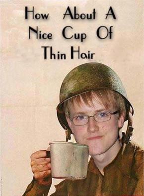 Nice Cup of Thin Hair