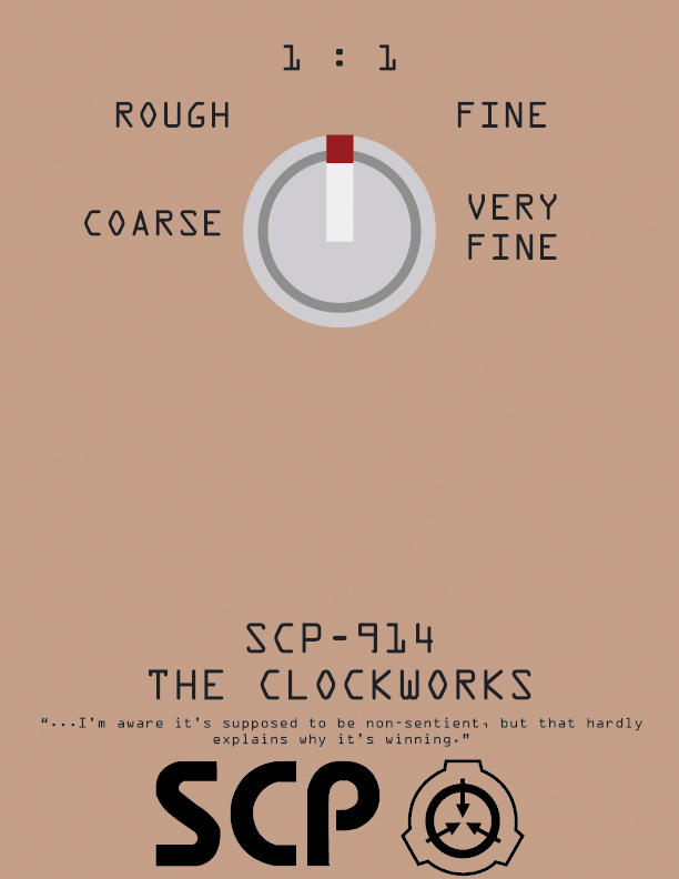 "SCP-914 ""The Clockworks"""