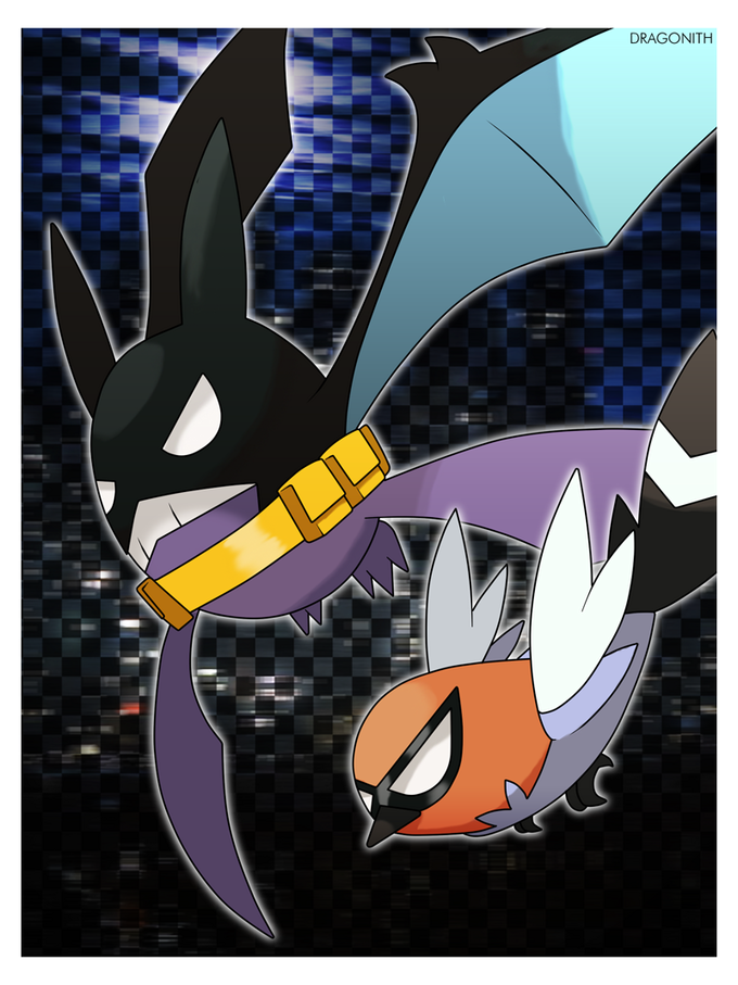 Crobatman and Fletchling!