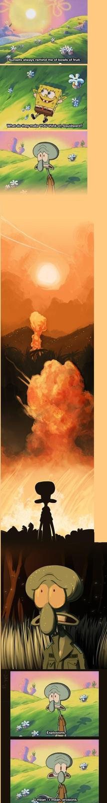 Squidward's Seen Things