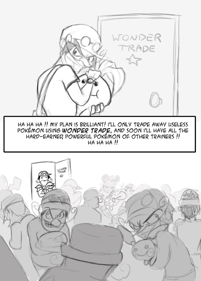 Wonder Trade in a nutshell
