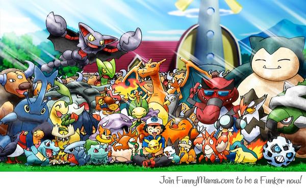 Ash and His Pokemon