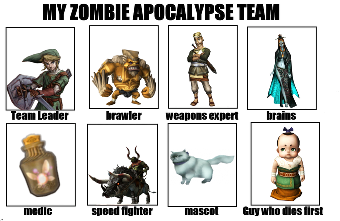 My Redead Apocalypse Team