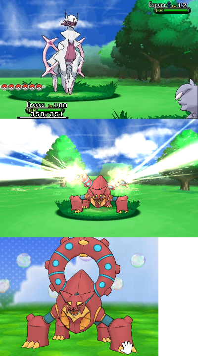 More Volcanion screencaps