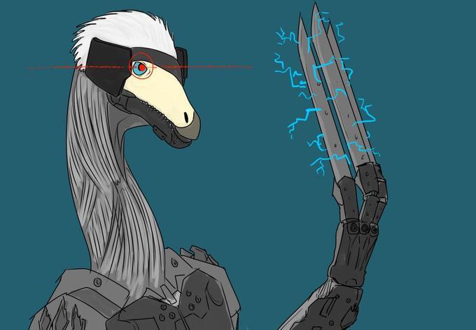 Raiden Therizinosaurus