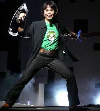 Shigeru Miyamoto At E3 2004.