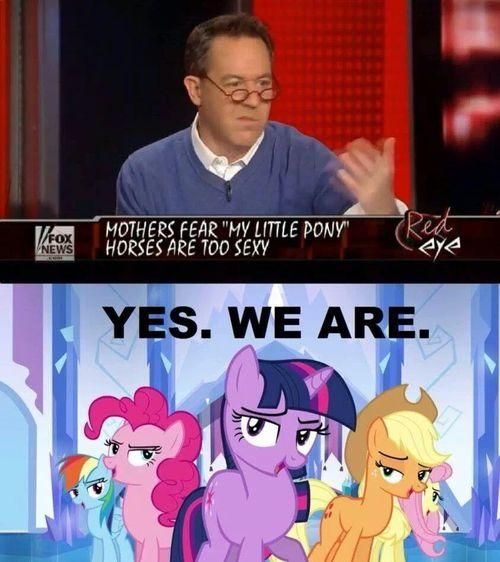 MLP Horses Are Too Sexy
