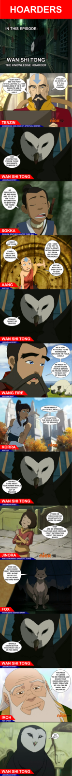Wan Shi Tong: The Knowledge Hoarder