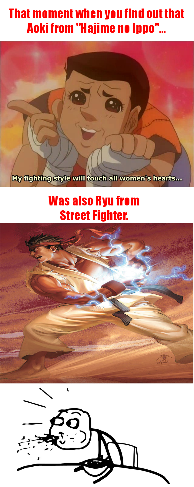 Though To Be Fair, Aoki Is Just As Manly