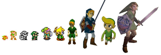 Link throughout the years