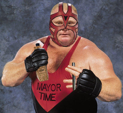 It's Time. It's Time. It's Mayor Time.
