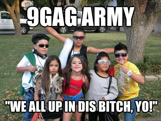 The 9gag army