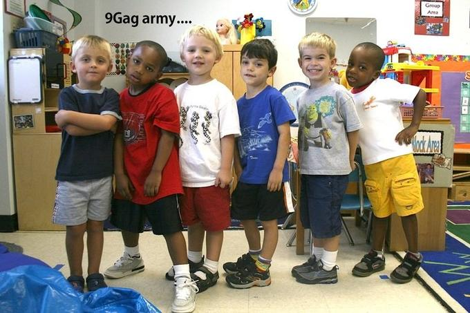 The real 9gag army