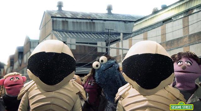 Sesame Street's Hungry Games Parody