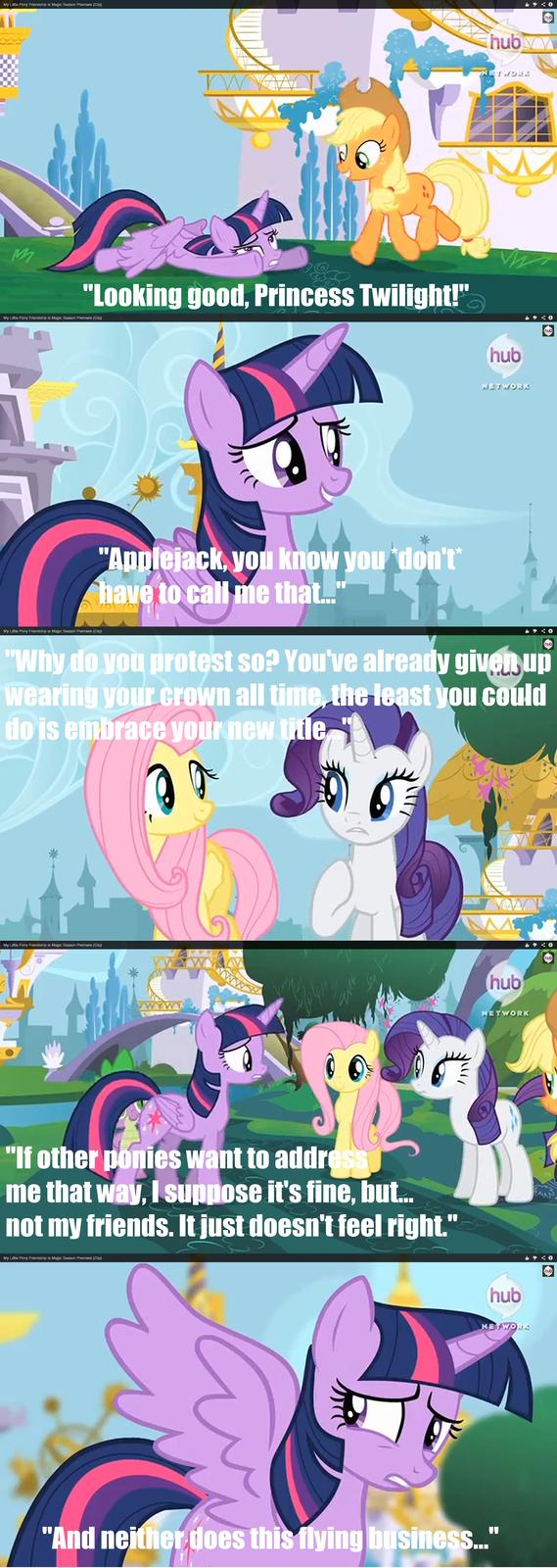 Twilight having princess issues...