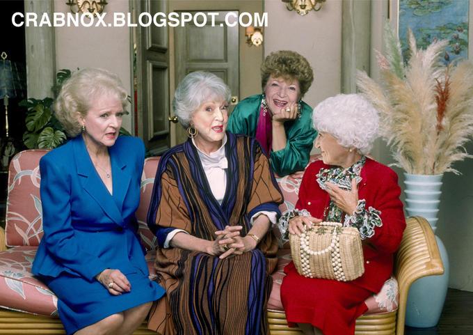 Betty White Plays All 4 Golden Girls