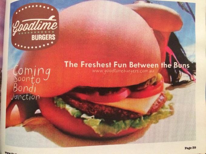 06.01.2014). Весьма дерзкая реклама гамбургера. Сообщений: 1,239. 3 польз