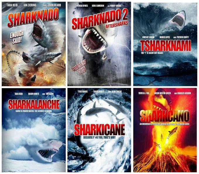 Sharknado Sequels
