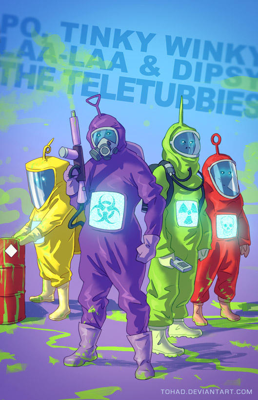 The Teletubbies BADASS