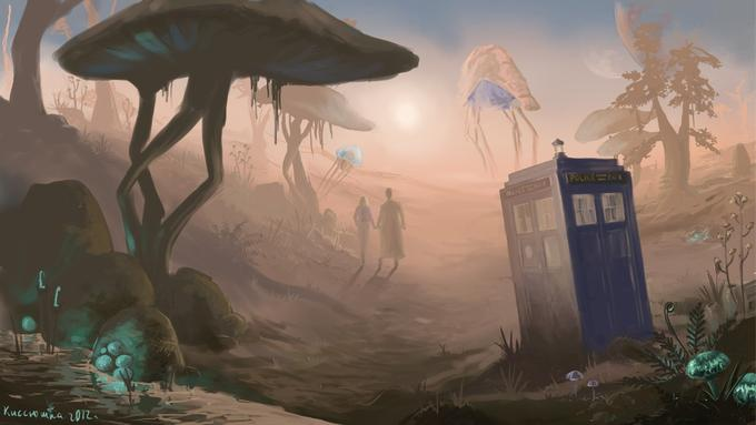 Morrowind X Doctor Who