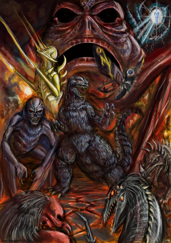 Godzilla Creepypasta Tribute