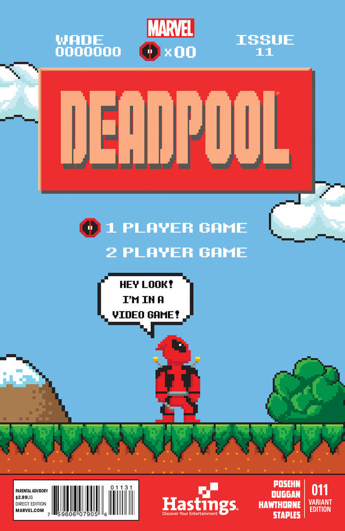 If Deadpool's in a 8-bit Video Game