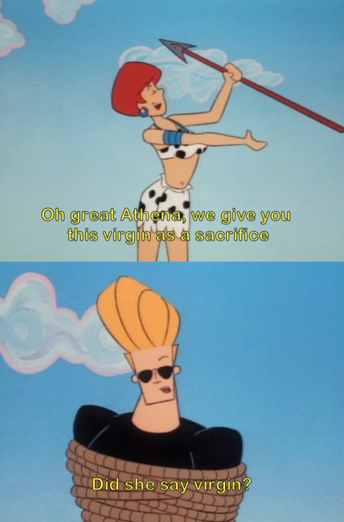 Johnny Bravo The Virgin Sacrifice