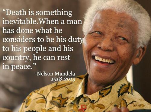 Nelson Mandela, The Champion of Peace