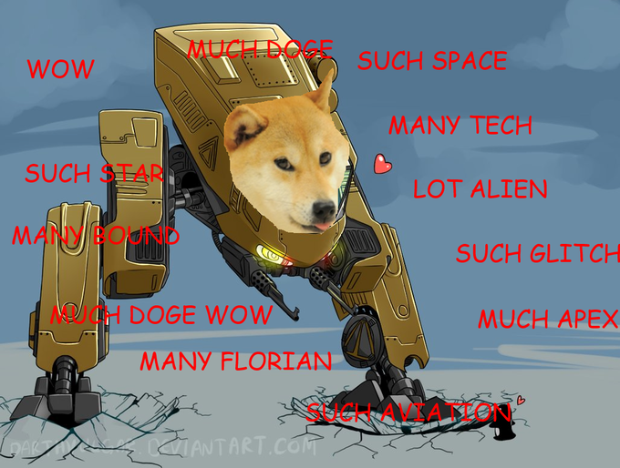 Doge Bound Starbound