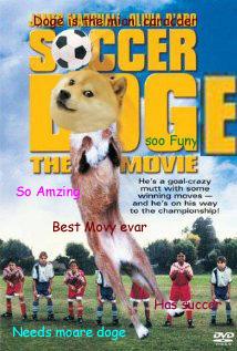 Soccer doge