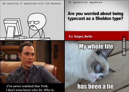 Jim Parsons vs. Sheldon Cooper