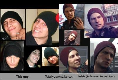 This guy looks like Delsin Rowe from Infamous: Second Son