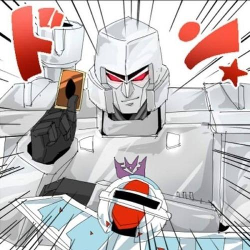 Megatron challenges you to a duel!