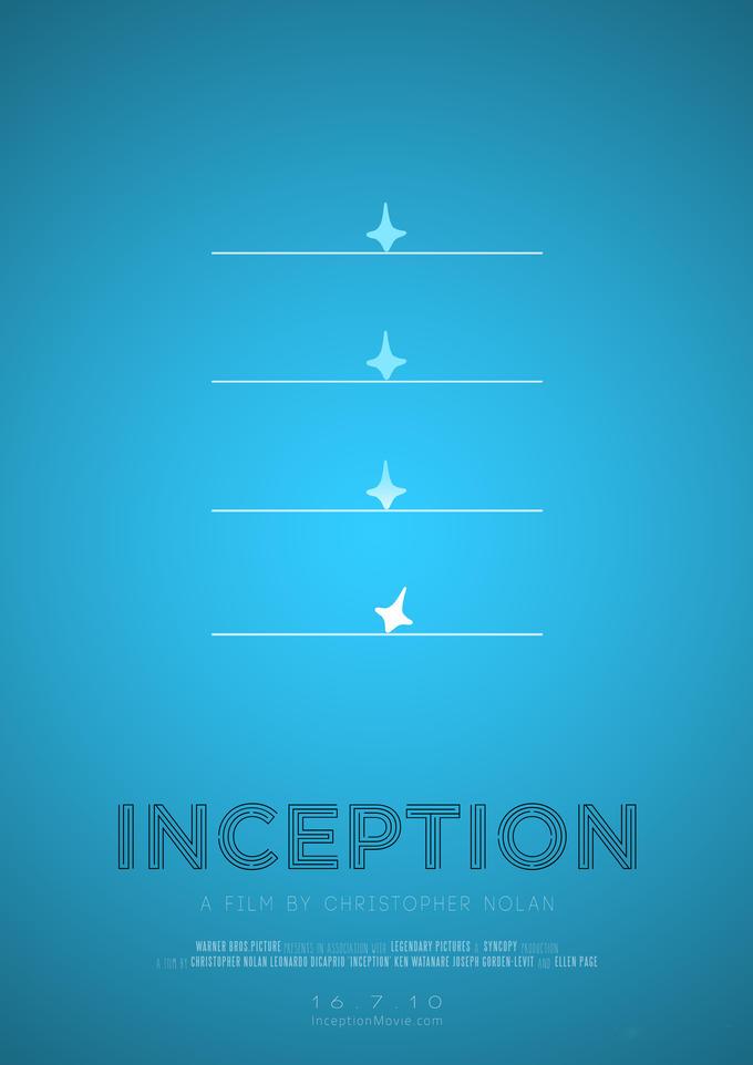 Inception [Minimal Poster]