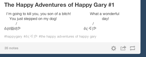 Adventures of Happy Gary # 1