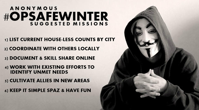 #OpSafeWinter Suggested Missions