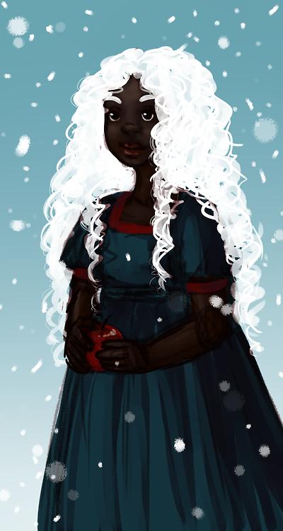 Frozen - racebent (Disneydiversity Tumblr)