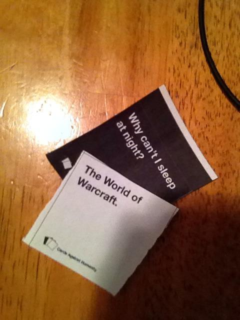 Cards Against Humanity WOW