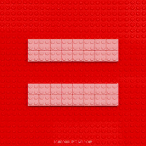 Lego™ for Marriage Equality
