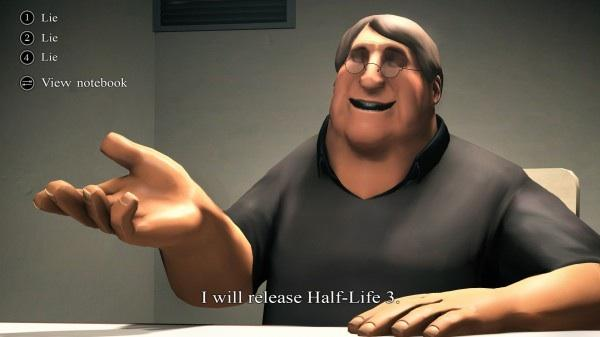 Gabe Newell on Half-Life 3