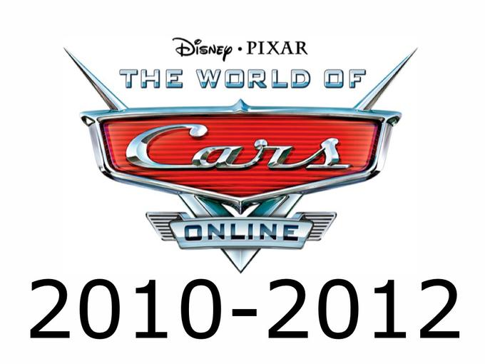R.I.P The World of Cars Online 2010-2012